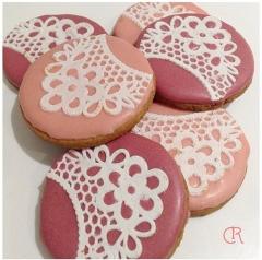 Biscuit dentelle