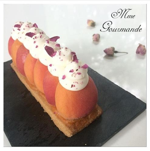 Tarte Abricot Rose