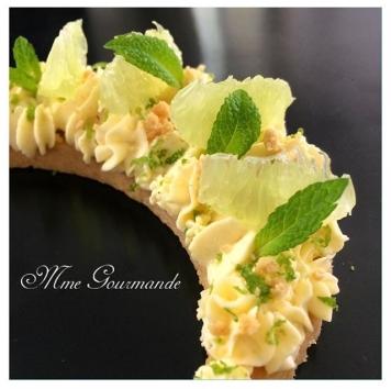 Tarte Citron vert Menthe
