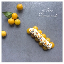 Tarte Mirabelle Gingembre