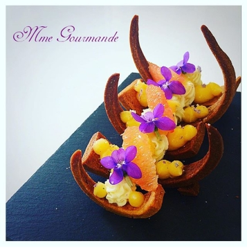 Tarte Pamplemouse Violette