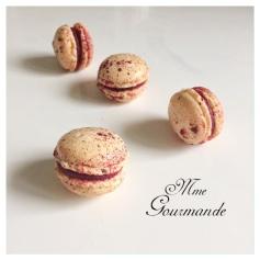 Macaron Cassis