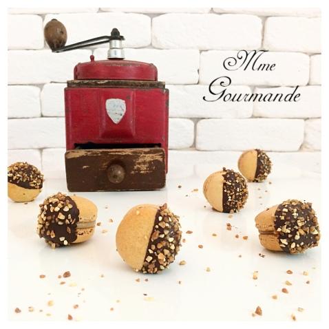 Macaron Café Chocolat
