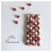 Tarte Vanille Chocolat Framboise