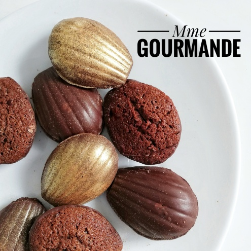 Madeleine chocolat croquante